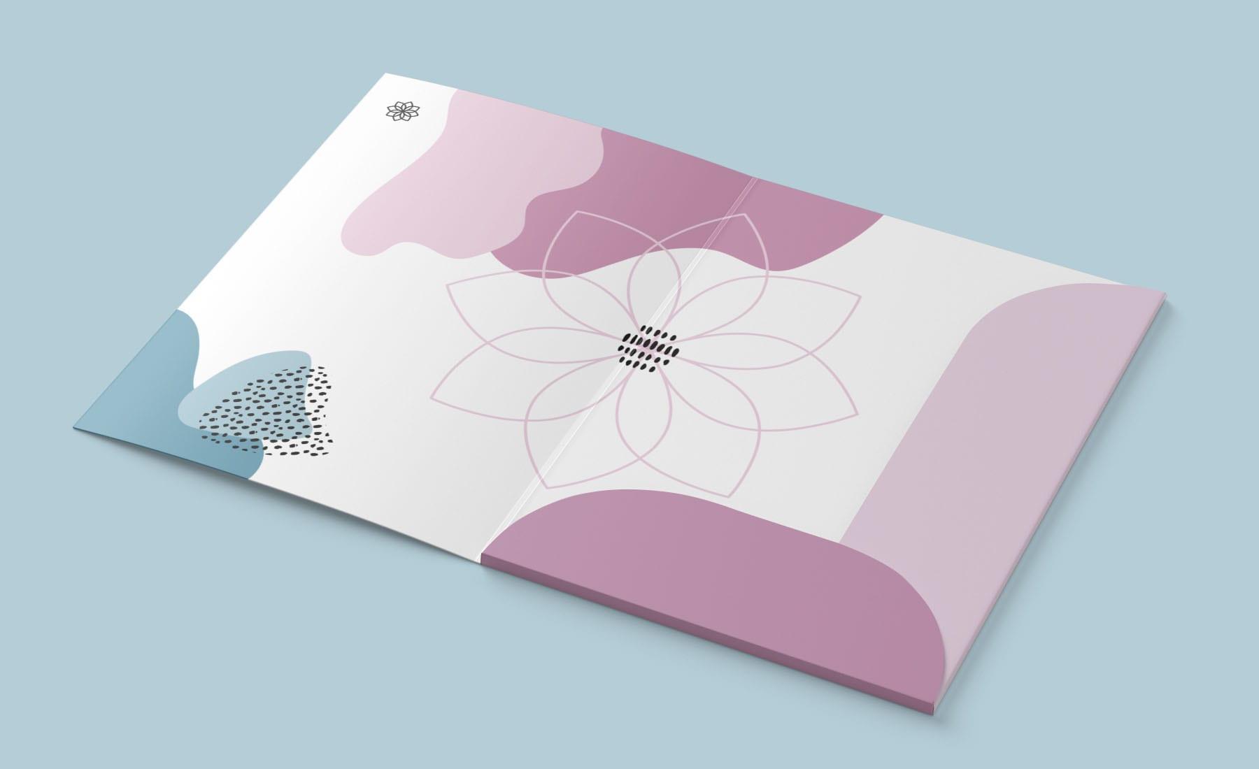 Femme Motion Fitnessstudio Villach - Druckprodukte Design der Mappe für die Mitglieder - innen
