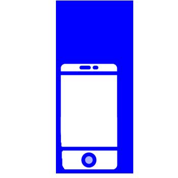 minuteman eigenes Kontakt Icon - Mobiltelefon mit Hasenohren