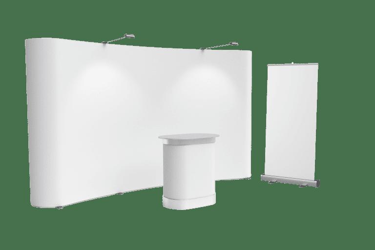minuteman Leistungen - farbloses Bild - Gestaltung Messestand Rollup, Messen, Seminare, Zelte, Taschen, Broschüren, Messeartikel