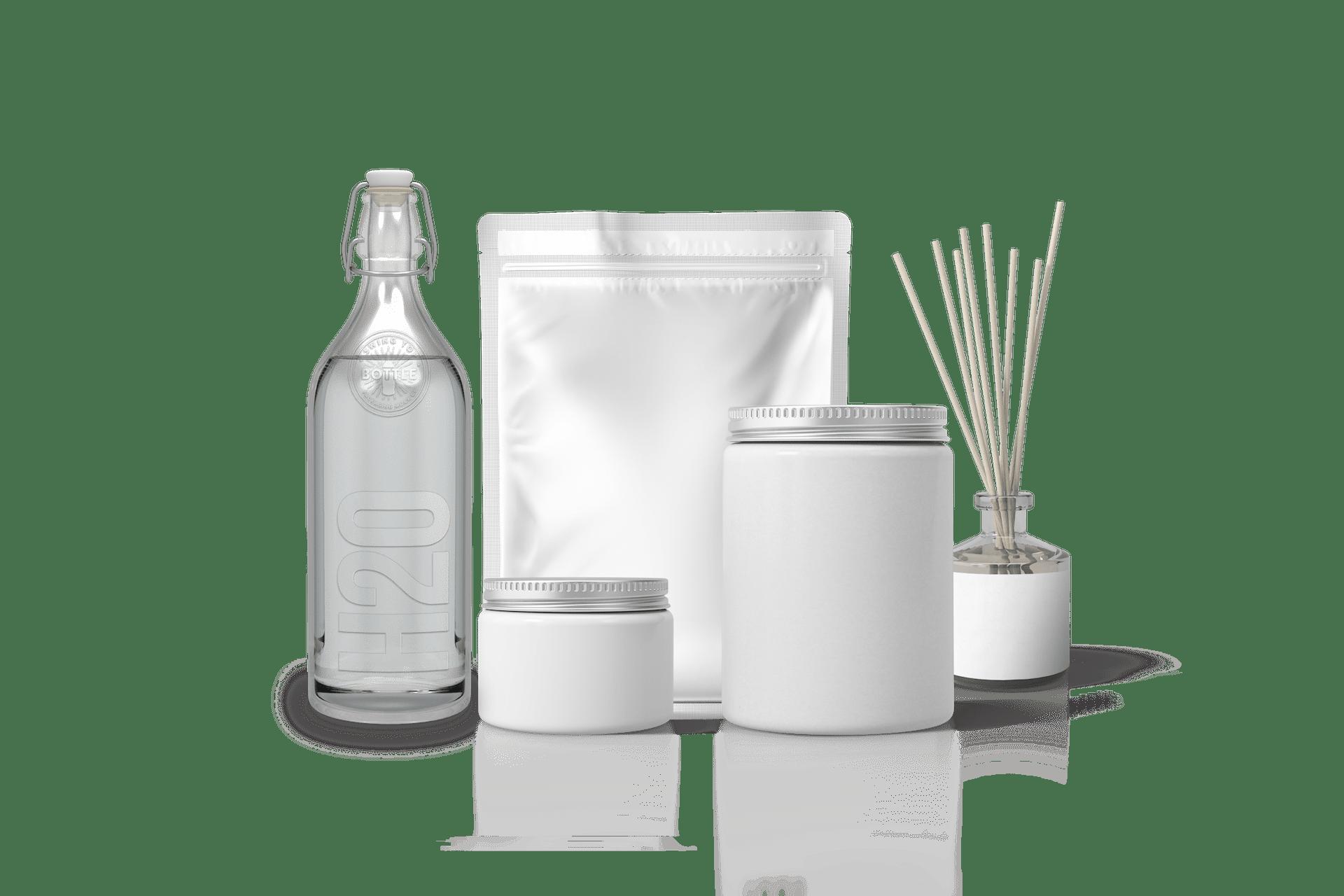 minuteman Leistungen - farbloses Bild - Produktdesign und Verpackungsdesign
