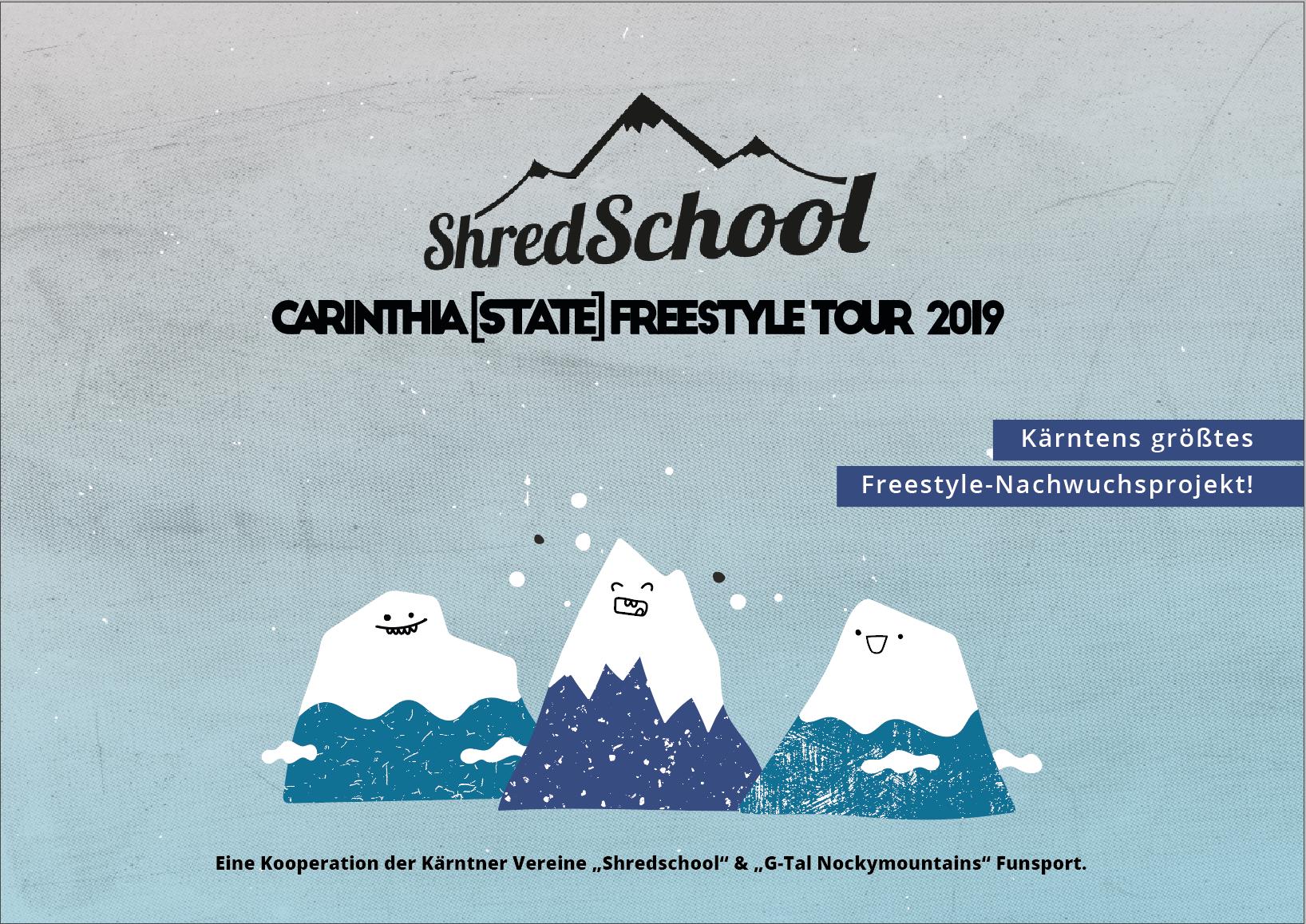minuteman's Portfolio - Carinthia State Tour -Titelbild für die Tour 2019 - Präsentationsmappe