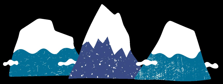 minuteman's Portfolio - Carinthia State Tour -handgezeichnete Illustration Berge