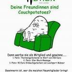 """minuteman's Portfolio - Re-Design - alter Facebookpost """"Couchpotato"""" von Fit'n'Motion für Facebook"""