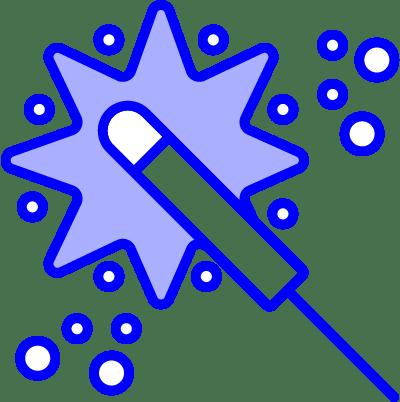 minuteman - Vorteile Aktionen - Detonation - Rakete Feuerwerk in blau