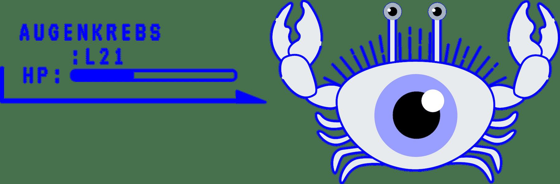minuteman vs augenkrebs - Computerspiel Kampfszenario - Gegner
