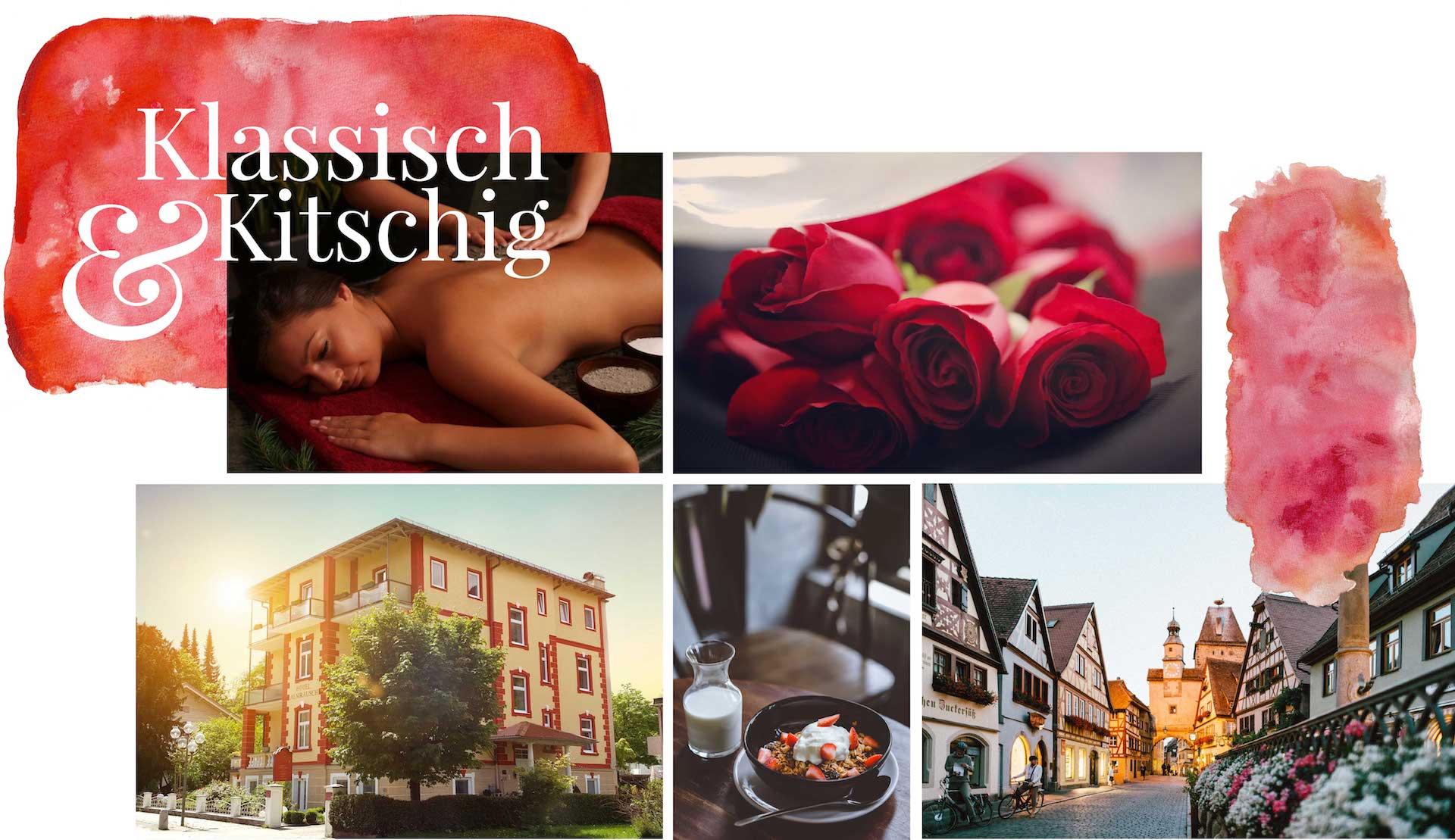 minuteman's Portfolio - Webdesign Moodboard für das liebevoll geführte Hotel Almrausch in Bad Reichenhall