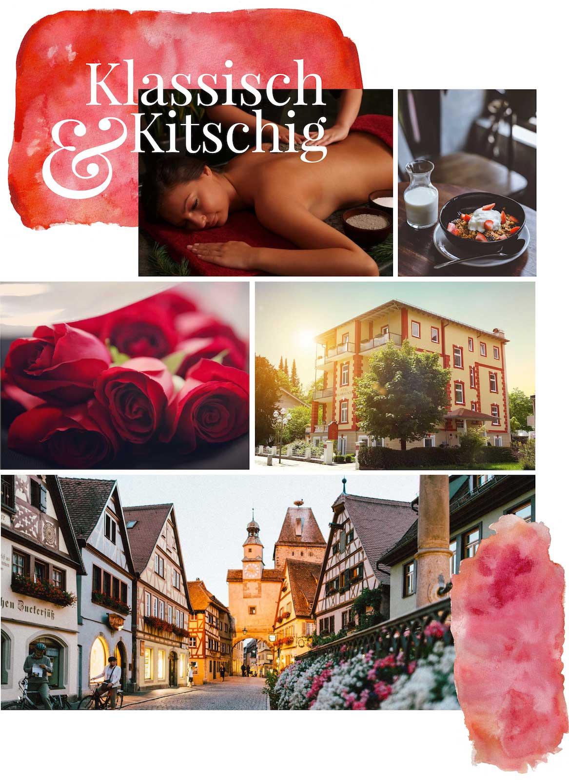 minuteman's Portfolio - Webdesign Moodboard für das liebevoll geführte Hotel Almrausch in Bad Reichenhall - mobile Ansicht