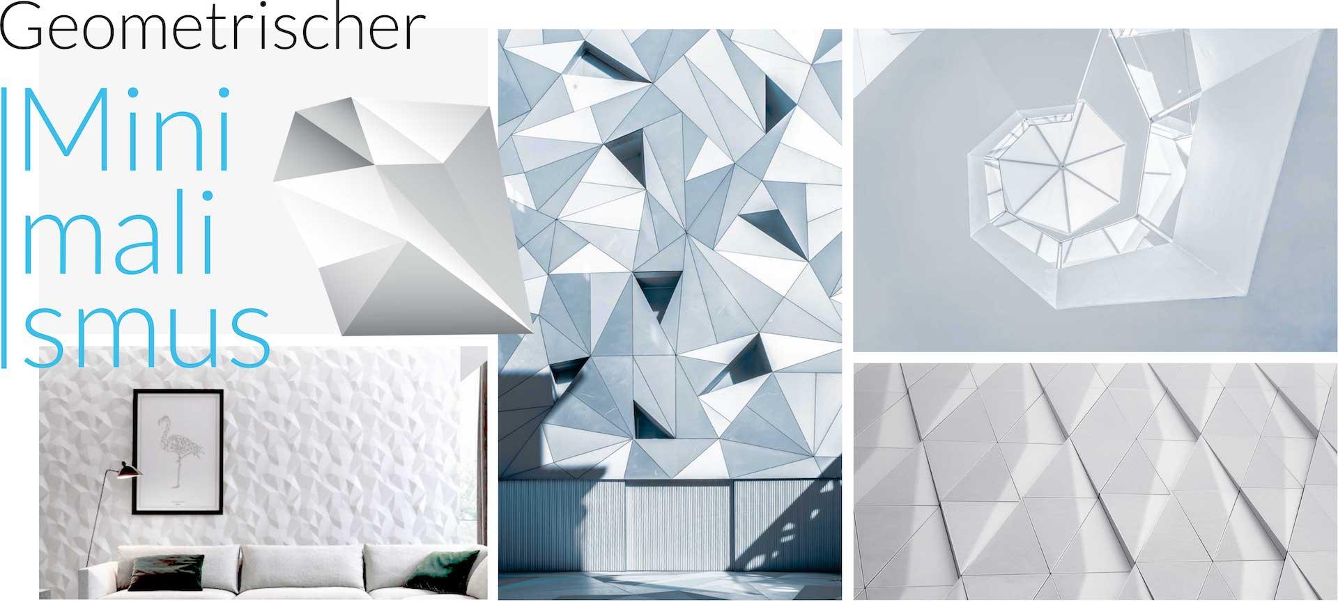 minuteman's Portfolio - Webdesign Moodboard für minimalistische Wandverkleidungen von My Art Wall