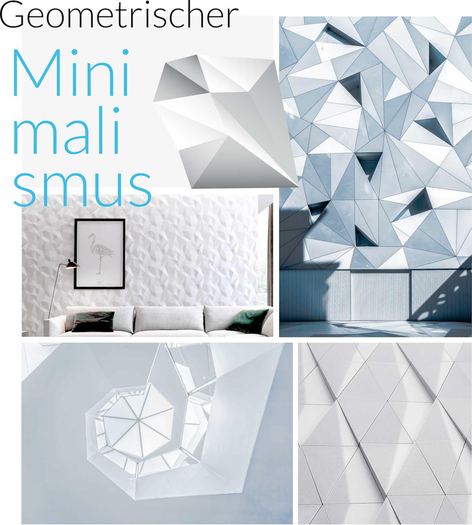 minuteman's Portfolio - Webdesign Moodboard für minimalistische Wandverkleidungen von My Art Wall - mobile Ansicht