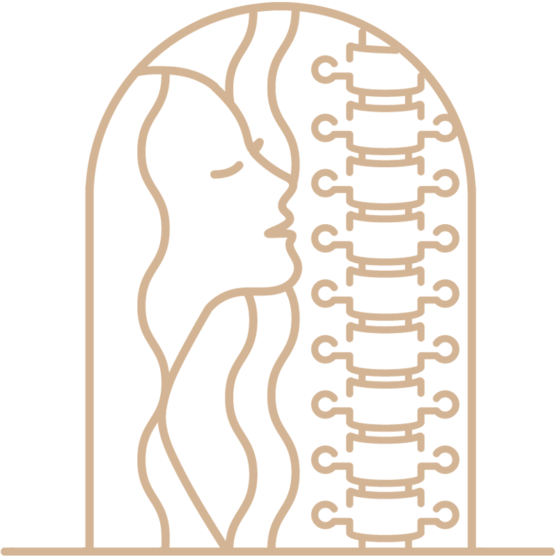 minuteman's Portfolio - Webdesign Relaunch - Custom Iconsset by Minuteman - Cranio Sacral Arbeit - Farbe Leinen