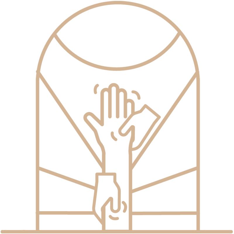 minuteman's Portfolio - Webdesign Relaunch - Custom Iconsset by Minuteman - Kinesiologie - Farbe Leinen