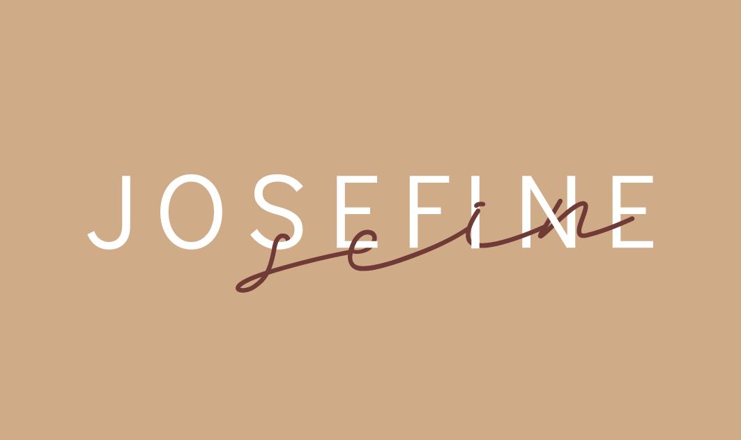 minuteman's Portfolio - Webdesign Relaunch - Rebranding neues Logo Josefine - einfach sein - Beige