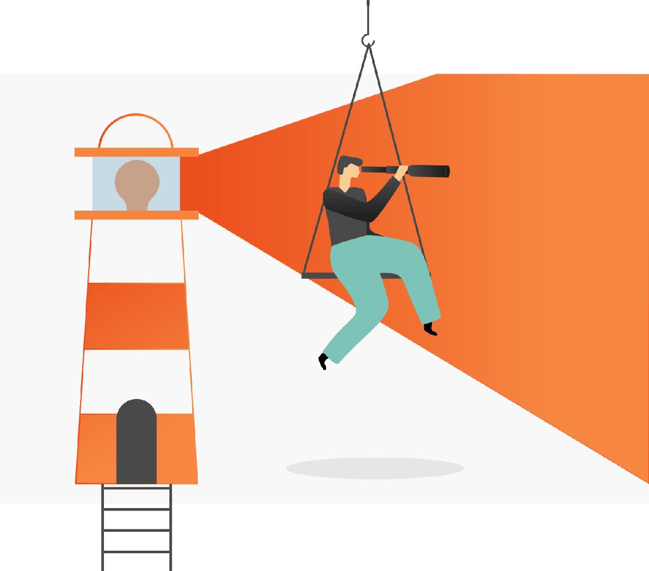 minuteman's Portfolio - individuelle Illustrationen für Venture Scale - agile Entwicklung - Desktop