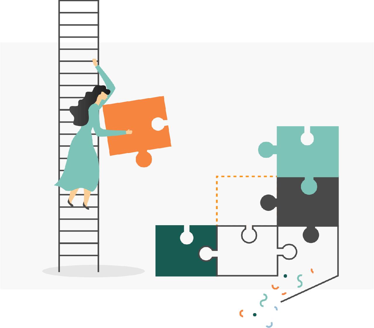 minuteman's Portfolio - individuelle Illustrationen für Venture Scale - schrittweise und iterativ - Desktop