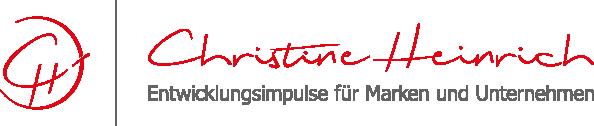 minuteman's Portfolio - Webdesign Relaunch in Kooperation mit Unternehmensberaterin Christine Heinrich - Logo